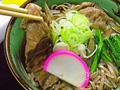 料理メニュー写真米沢牛肉そば