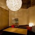 デザイナーズマンションの様なソファー個室