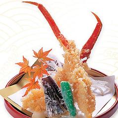 ずわい蟹天ぷら