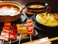 すべての食材にこだわり、さまざまな美味しさをご提供いたします。