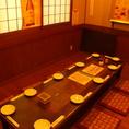 10名個室。利用人数はご相談下さい!宴会コースは4000円/4500円/5000円があります。