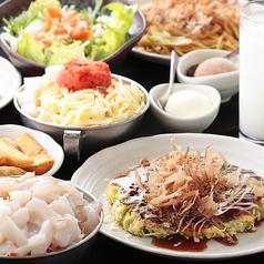 もんじゃ江戸門 天神コア店のおすすめ料理1