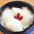 料理メニュー写真杏仁豆腐