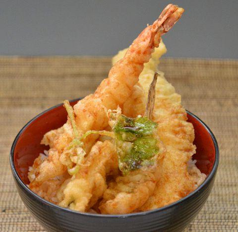 「海鮮天丼」の画像検索結果