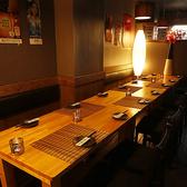 ≪女子会や合コンに♪テーブル席≫ゆったり広々としたテーブル席