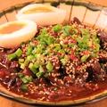 料理メニュー写真名古屋名物 牛タンの土手煮