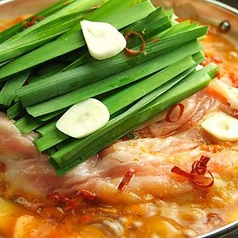 国産牛もつ鍋(醤油味/辛味噌/塩味)