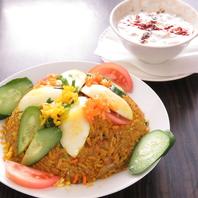 インド人シェフが作る本格インドレストラン
