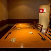 ゆったり寛げる個室となっており、6名様までお席ご用意しております。是非ご利用くださいませ。