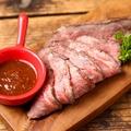 料理メニュー写真自家製 黒牛のローストビーフ