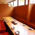 プライベート宴会などに!接待やお祝い事など、大切な方をもてなすお食事会にもおすすめ。