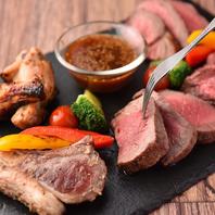 極上の肉料理を贅沢に堪能♪話題のシュラスコも!
