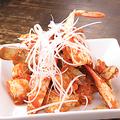 料理メニュー写真渡り蟹のXO醤炒め