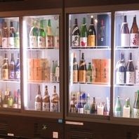 22蔵から集めた豊富な日本酒!