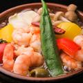 料理メニュー写真小えびと季節野菜
