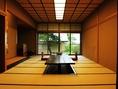大人数収容可能な完全個室の座敷も完備!