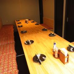 テーブル個室席に7月1日リニューアル