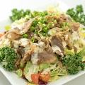 料理メニュー写真焼肉サラダ
