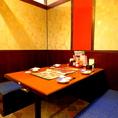 仕事帰りや仲間内、合コンなどにも最適なテーブル席もご用意!