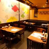 テーブル席は最大45名様までご利用可能です。歓送迎会や各種ご宴会にどうぞ♪