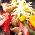 料理メニュー写真豚トロの黒酢炒め