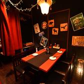 半個室風なテーブル席♪宴会プランも豊富にご用意しておりますのでお客様にぴったりのプランをお選びください!