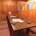 ロフト席の個室は最大16名様迄ご利用可能!10~16名様の宴会にぴったり!人気な完全個室なのでご予約はお早めに♪