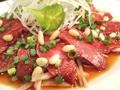 料理メニュー写真馬ヒレ肉のカルパッチョ