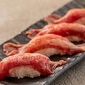 料理メニュー写真牛タン寿司