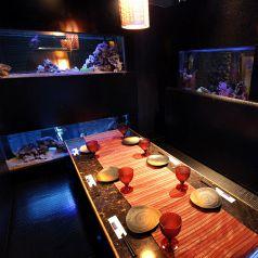 熱帯魚と共に♪横浜アクアリウムVIP個室~6名様用
