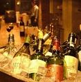 世界中のソムリエ厳選ワインを常時60種類以上も取り揃えております。お勝利に合うワインや、お好みに合わせてスタッフのおすすめもご提案させていただきます☆