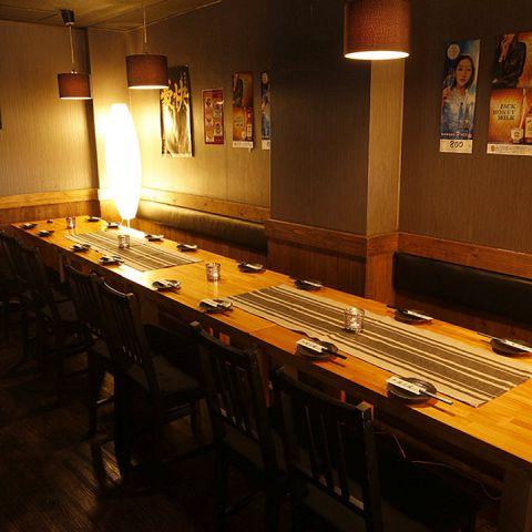 ≪大型宴会にも最適なテーブル個室≫10名様以上のご宴会にも◎