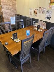 【感染症対策@飛沫防止】女子会や会社帰りのサク飲みにピッタリのテーブル席