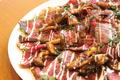 料理メニュー写真牛内もも肉のローストビーフ