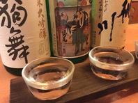 日本酒20種類以上ご用意