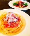 料理メニュー写真イタリア産生ハムのスパゲッティー(ビアンコ又はロッソ)