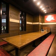 大人数でも個室!会社帰りにお食事をリーズナブルに美味しくお楽しみ下さい。
