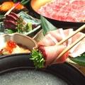 料理メニュー写真【旬の季節コース】(冬)⇒牛しゃぶ・鰤コース