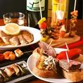 東京駅のスペイン料理ディナー、パーティーはいかかですか?ディナーや飲み放題付きパーティプランもおすすめ。ランチはリーズナブル本格スペイン料理を個室でお楽しみいただけます。