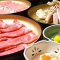 料理メニュー写真【一番人気メニュー】 牛・豚・蟹の三種食べ放題コース