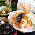 【海石】人気メニューランキング第5位『不動の天ぷら盛り合わせ』