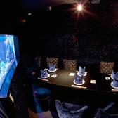 海の神殿の奥にある、大きな水槽がある幻想的な個室人魚だけが知っているナイショのお部屋へご招待♪