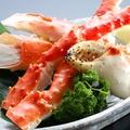 料理メニュー写真たらば蟹盛り(200g)