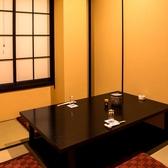 様々なシーンでご利用頂けるよう、少人数の個室もございます。