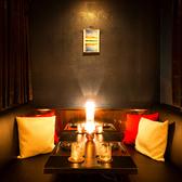 接待や会社宴会などに最適!!雰囲気あるバル個室の寛ぎ空間で素敵なひとときをお過ごし下さい。