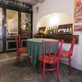 大人気のテラス席はお一組様限の特別席です♪開放的な空間で美味しい料理を堪能★