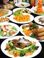 60種類以上の中華が食べ放題!