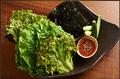 料理メニュー写真無農薬 包み野菜の盛り合わせ