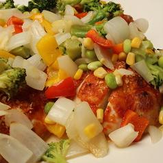 チキンと彩り野菜のオーブン焼き【タンパク質 摂取強化商品】