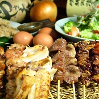 淡路産朝引鶏を土佐備長炭で★焼鳥1本110円~(2本~)